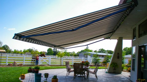 Image result for retractable awning